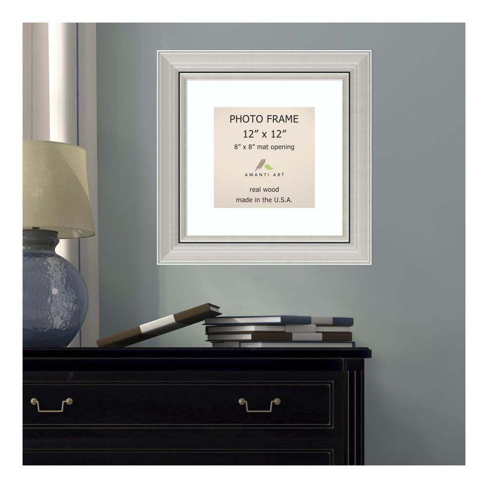 Pinnacle 1-Opening 6 in. x 8 in. Matted Picture Frame-16FW1080E ...