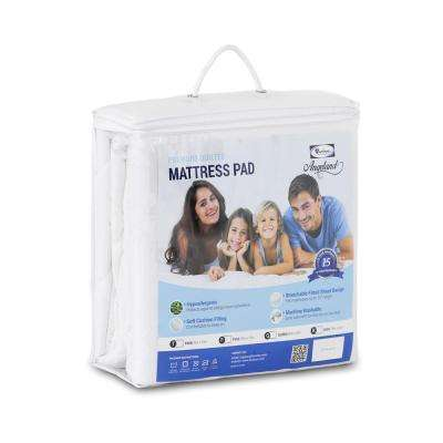 Angeland Full Size Quilted Mattress Pad
