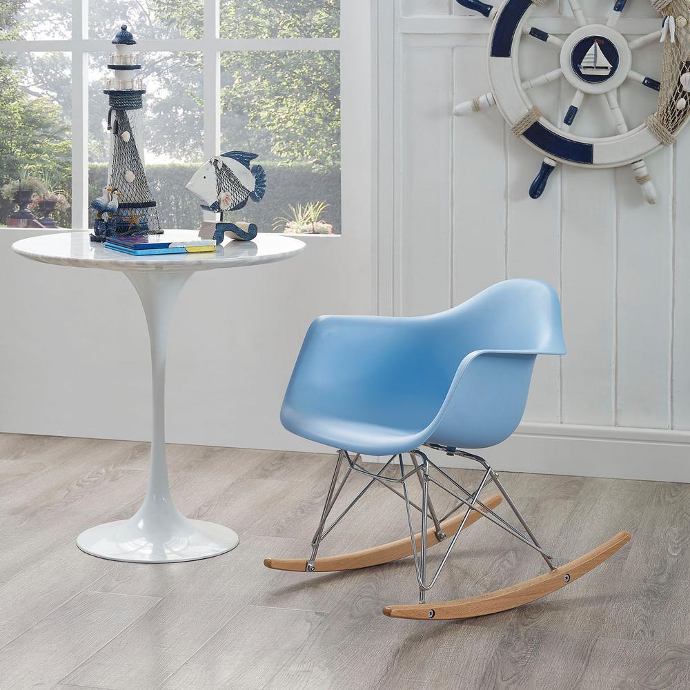 Rocker Blue Kids Chair