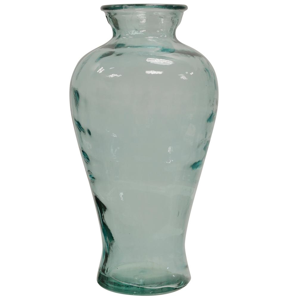 StyleCraft Translucent Clear Curved Glass Vase was $66.99 now $27.12 (60.0% off)