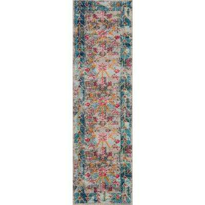 Casa Multi 2 ft. 3 in. X 7 ft. 6 in. Indoor Runner Rug