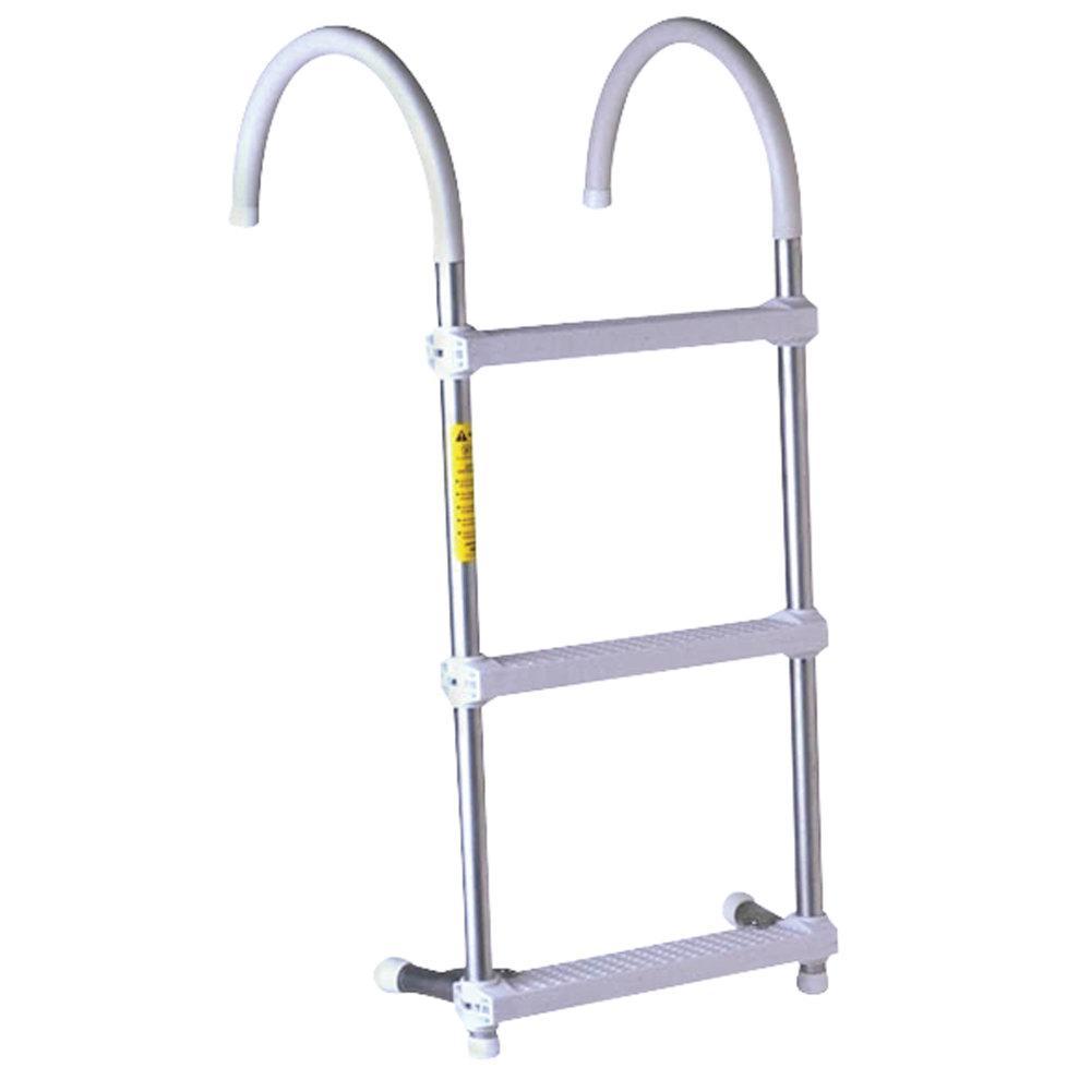 """Eez-In Gunwale Hook Ladder - 3-Step with 7"""" Hook"""