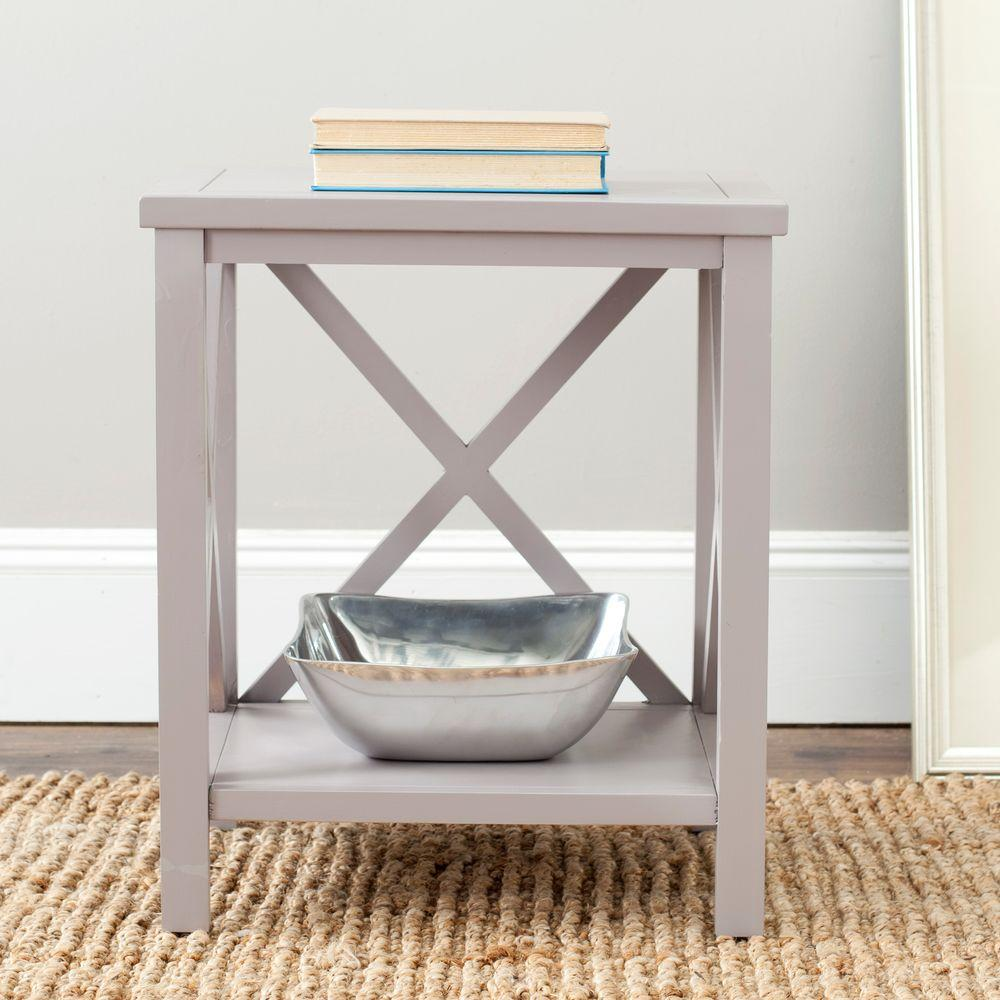 Safavieh Candence Gray End Table