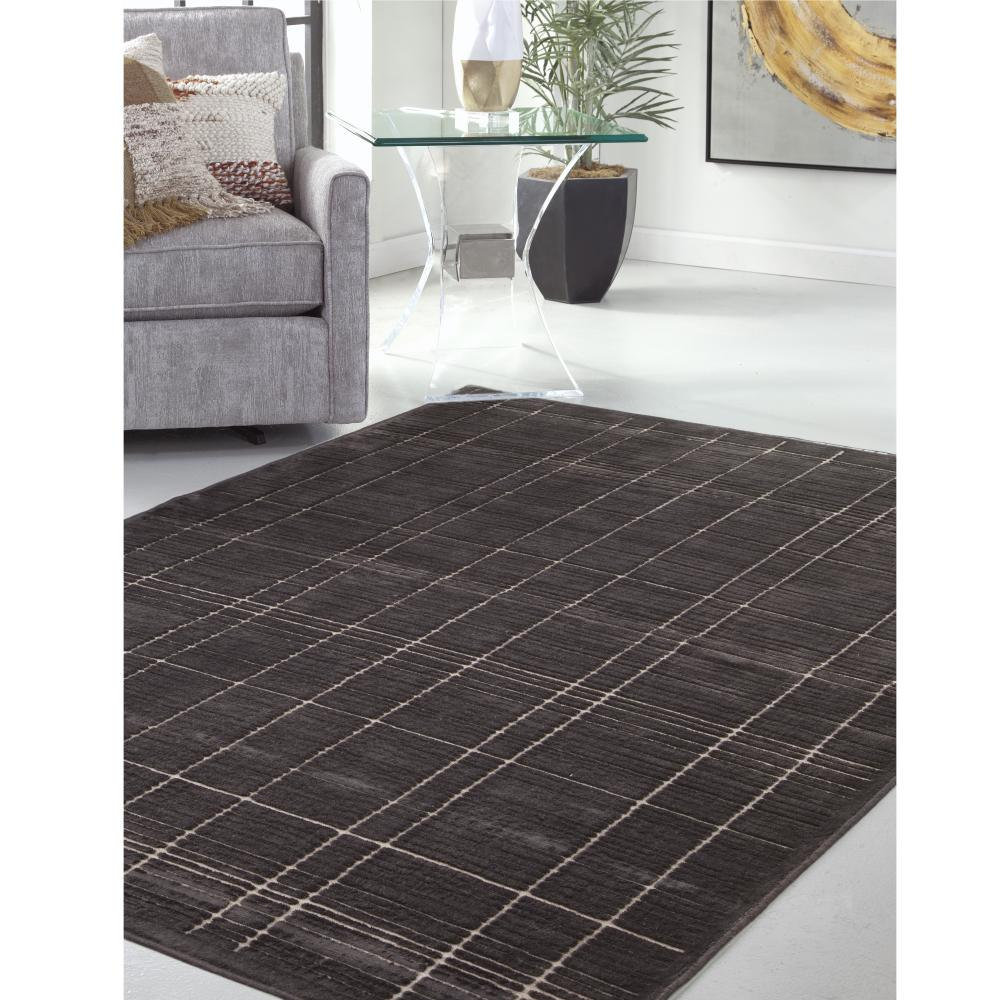 Sams International Napa Shelbourne Chocolate 7 ft. 10 in. x 11 ft. 2 in. Area Rug