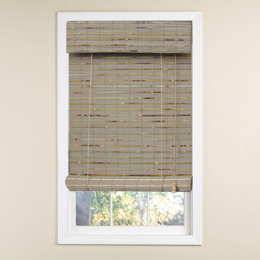 Radiance 30 in. x 72 in. Natural Sahara Rollup Blind