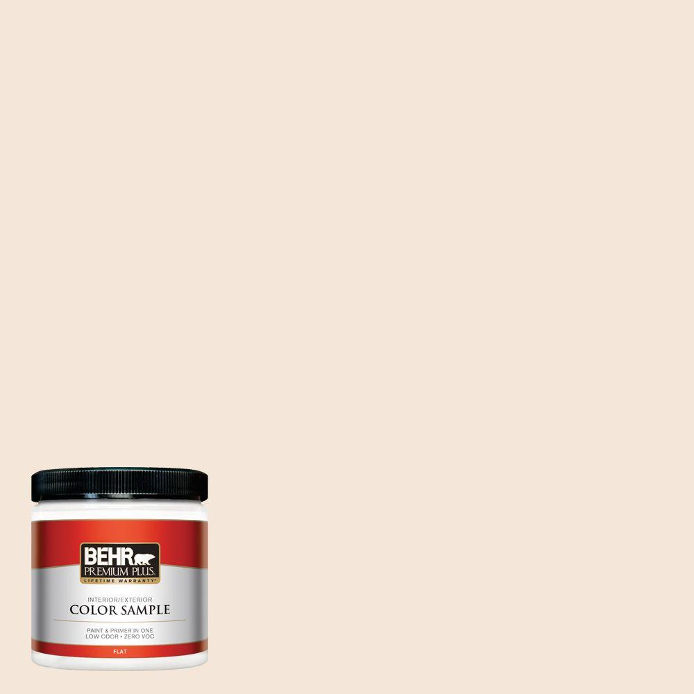 BEHR Premium Plus 8 oz. #280E-1 Heirloom Lace Interior/Exterior Paint Sample