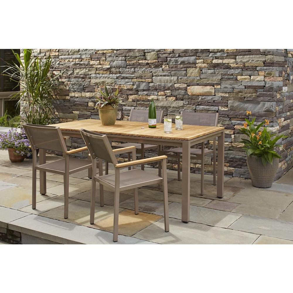 100 Hampton Bay Patio Set Home Depot Spring Haven Grey The Home Depot Hampton Bay Belleville