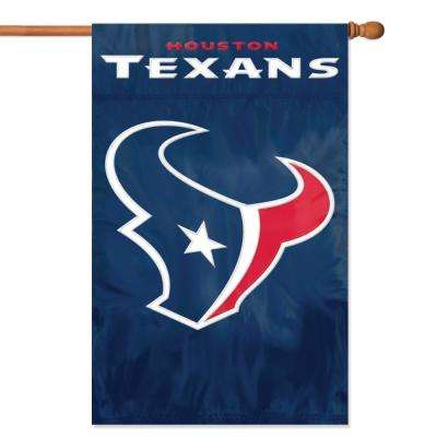 Houston Texans Applique Banner Flag