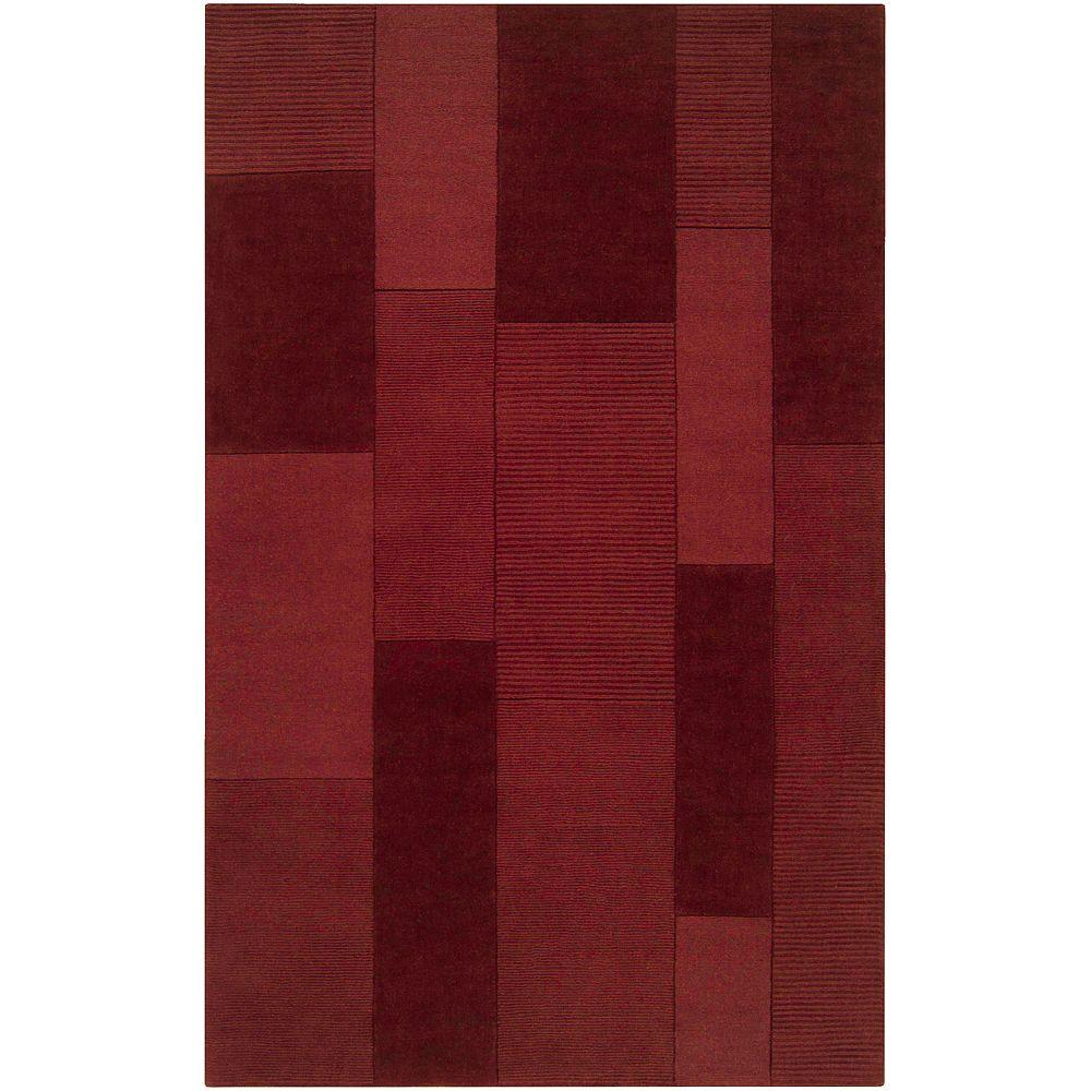 Artistic Weavers Mantra Red 5 ft. x 8 ft. Area Rug