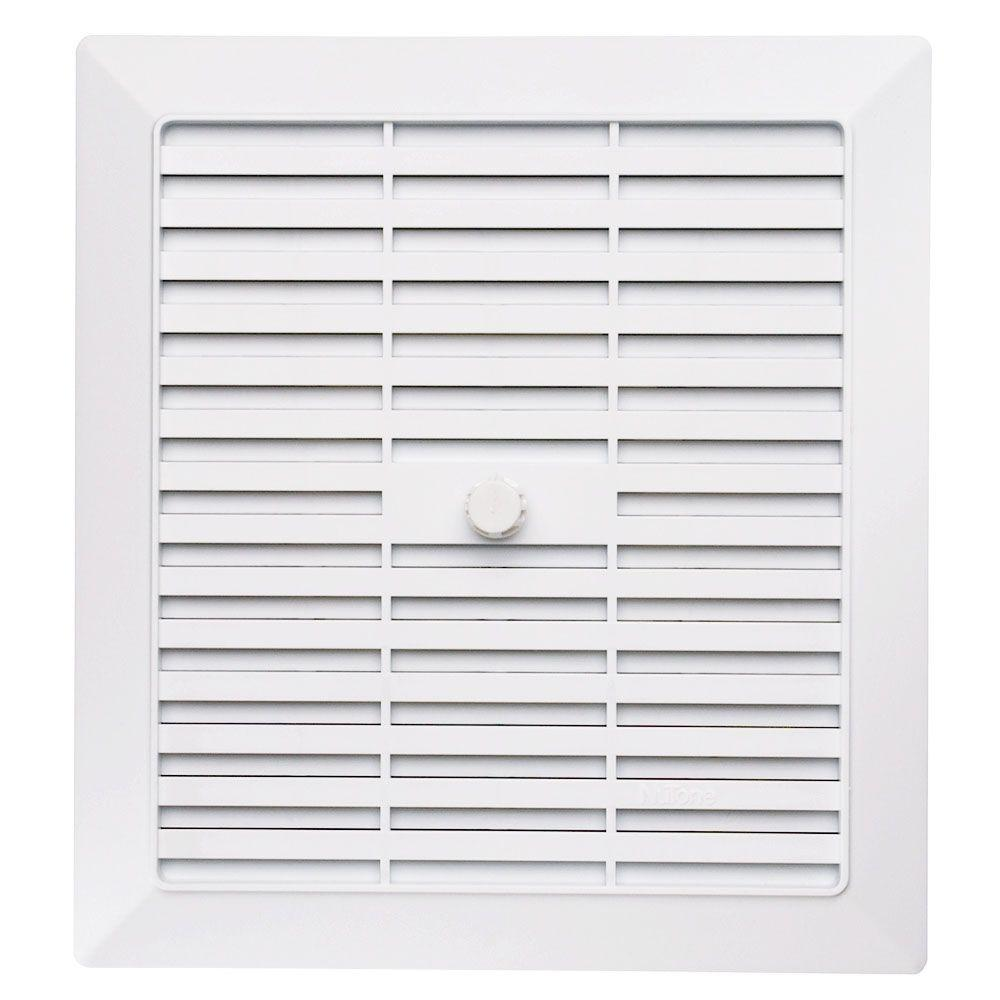 NuTone Replacement Grille For Bath Exhaust FanGN The Home - Bathroom vent fan repair