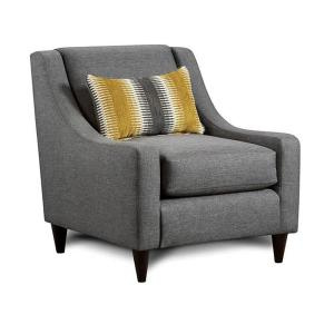 Orson Gray Contemporary Style Living Room Chair