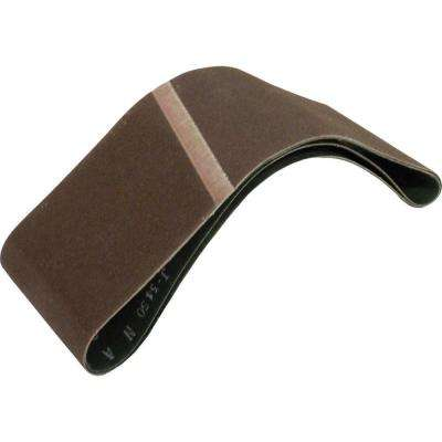 3 in. x 18 in. 120-Grit Abrasive Belt (2-Pack)
