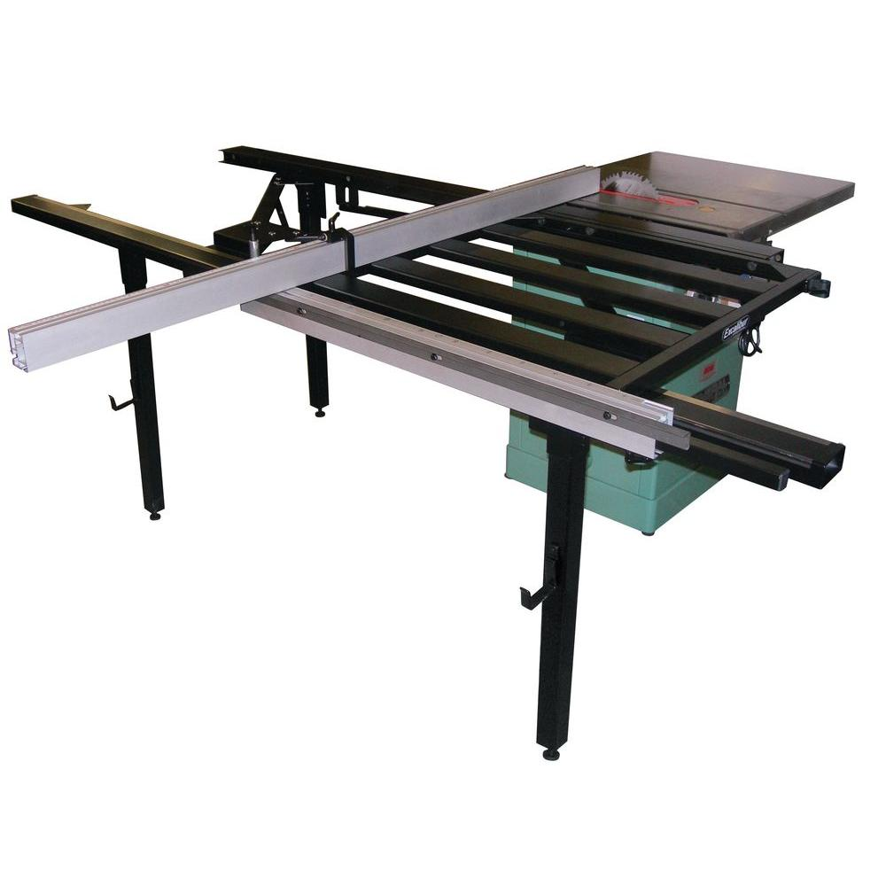 General International Excalibur Series 49 in. Sliding Table for Table Saw