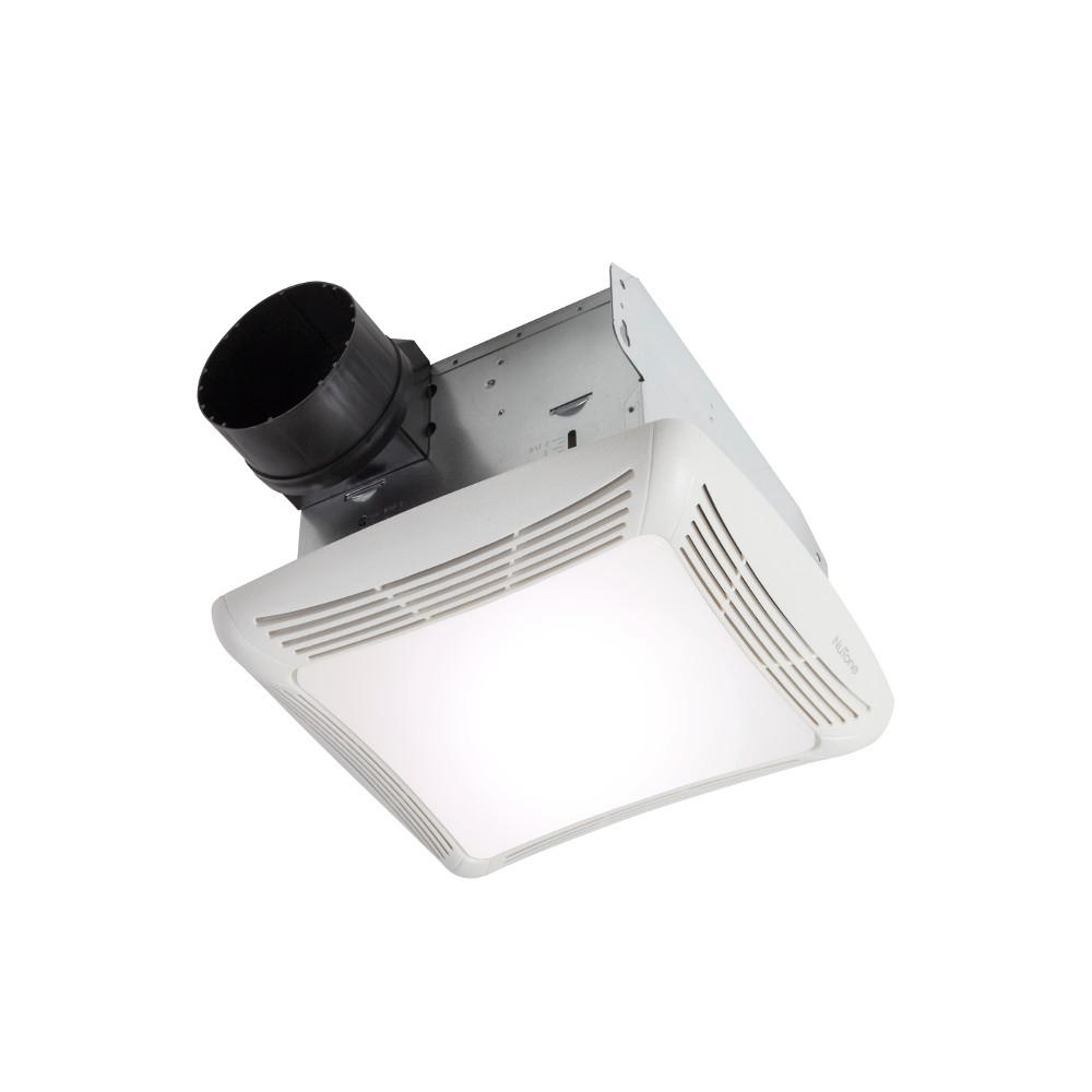 Nutone Kitchen Exhaust Fan: NuTone 80 CFM Ceiling Bathroom Exhaust Fan With Light