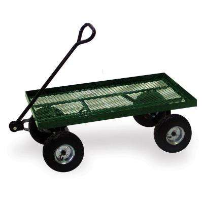 36 in. x 18 in. Flatbed Utility and Garden Cart with 550 lbs. Weight Capacity