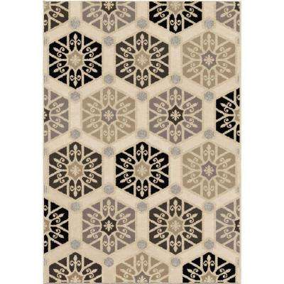 Capped Off Multi 8 ft. x 11 ft. Indoor Area Rug