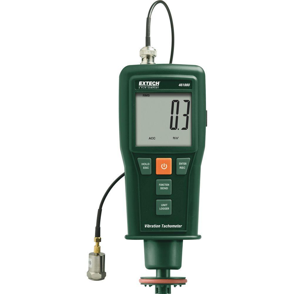 Extech Instruments Vibration Meter + Combination Tachometer