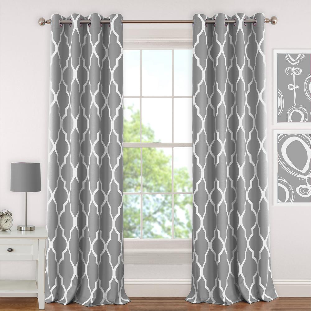 Elrene Emery Kids Blackout Window Curtain 026865901047