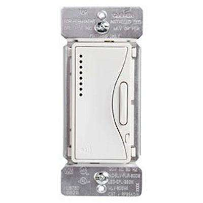 Aspire Single-Pole Multi-Location Master Dimmer Light Switch, Alpine White