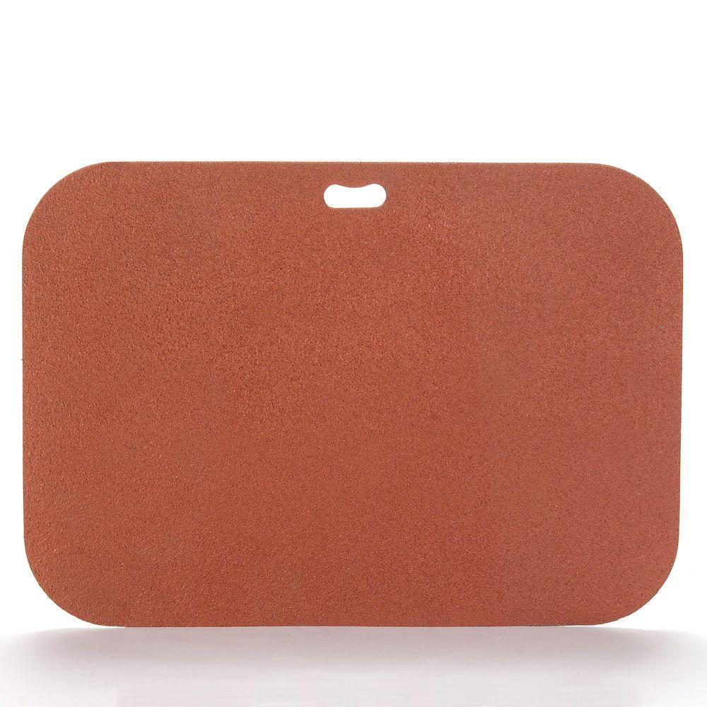 The Original Grill Pad 42 in. x 30 in. Rectangular Brick Red Deck Protector