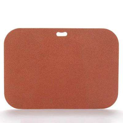 42 in. x 30 in. Rectangular Brick Red Deck Protector