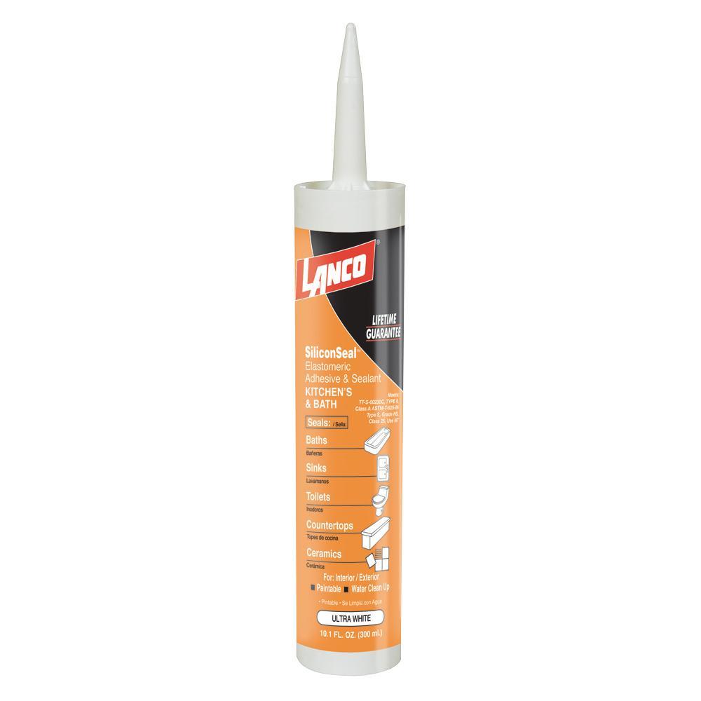 Lanco 10.1 oz. Silicone Seal Adhesive and Sealant