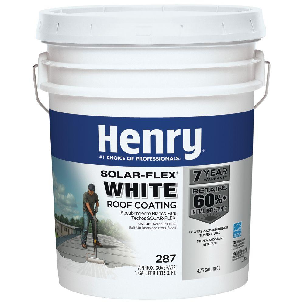 Superb 287SF Solar Flex White Roof Coating (16 Piece)
