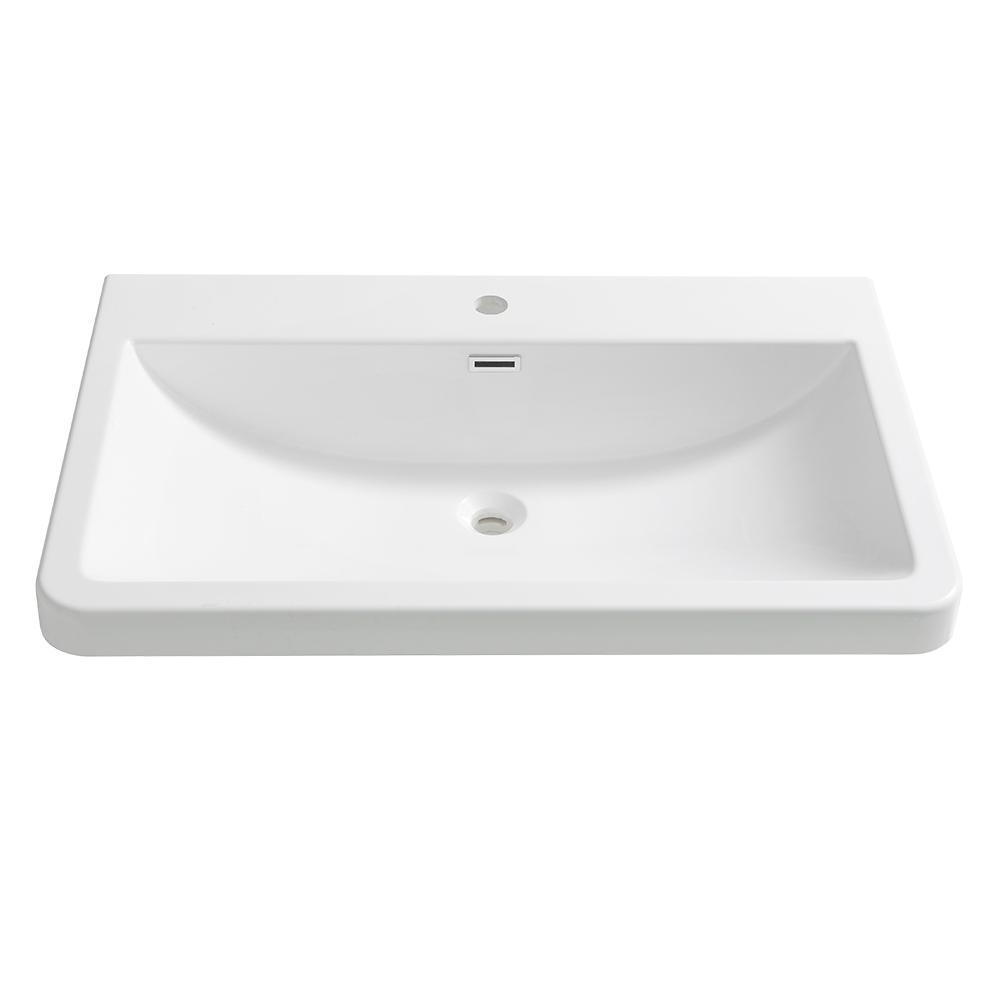 Drop In Acrylic Bathroom Sink