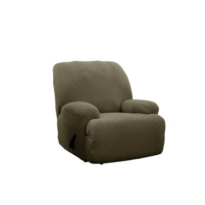 Sage Newport Jumbo Recliner Stretch Slipcover