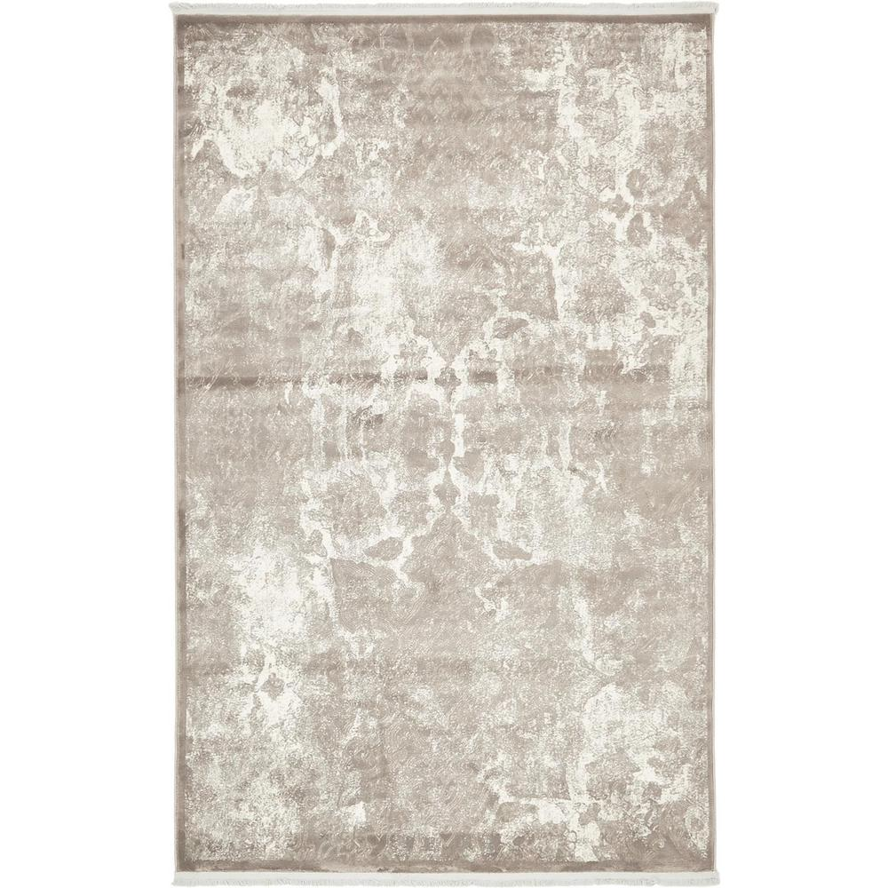 New Classical Gray 5' x 8' Rug