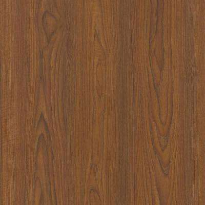 5 ft. x 12 ft. Laminate Sheet in Nepal Teak with Premium FineGrain Finish