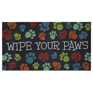 Wipe Your Paws 20 inch x 36 inch Door Mat by