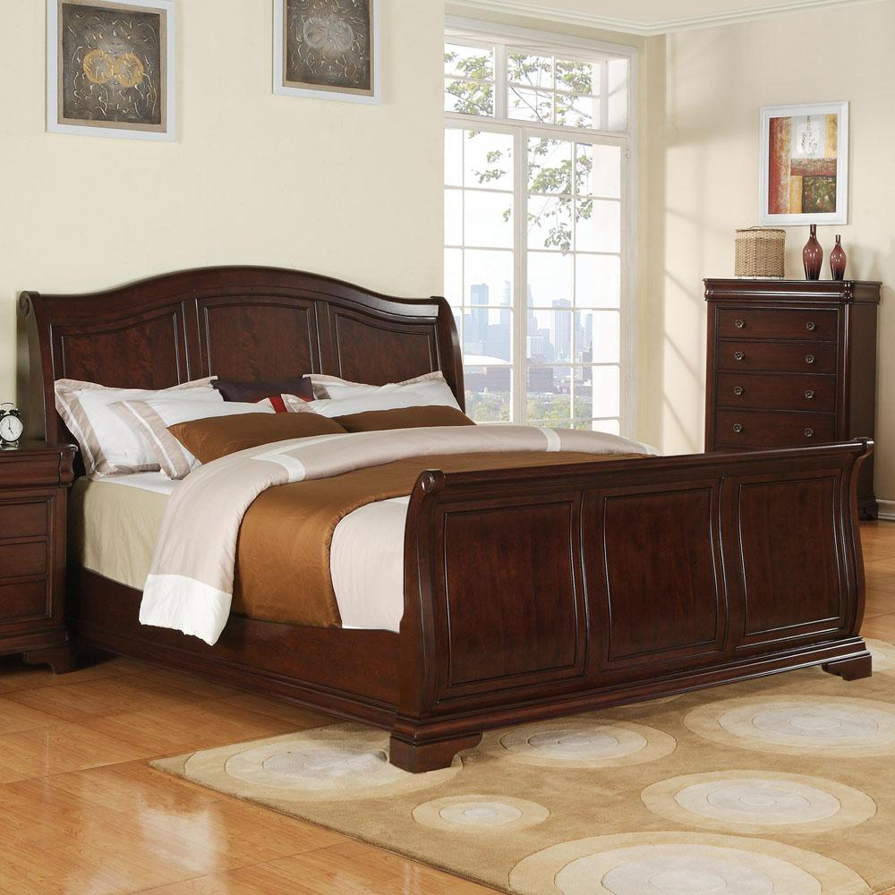 Corolla Cherry Queen Bed