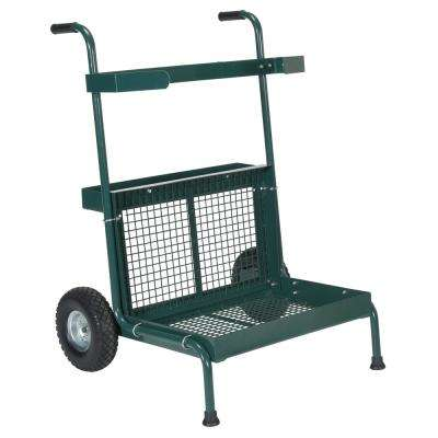 300 lbs. Capacity Green Portable Garden Dolly