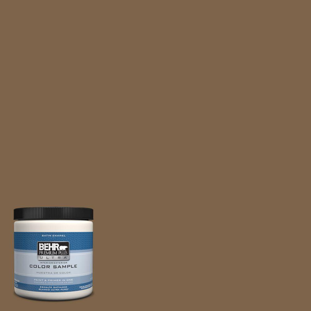 8 oz. #PPU4-19 Arts And Crafts Satin Enamel Interior/Exterior Paint and