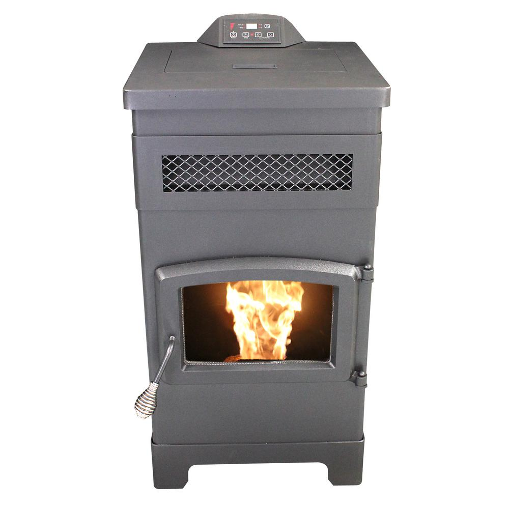 Epa Certified Pellet Stove With 40 Lbs Hopper And Remote