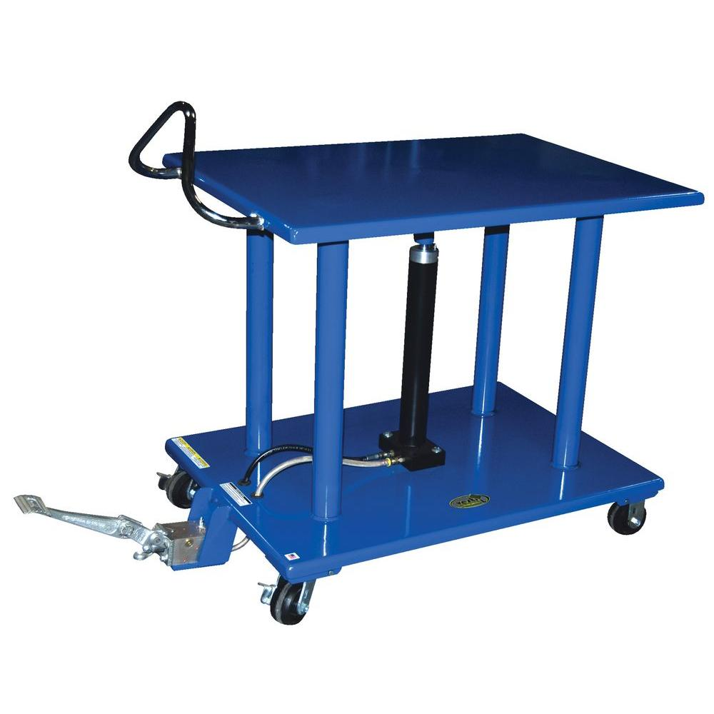 Vestil 30 in. x 42 in. 4,000 lb. Hydraulic Post Table