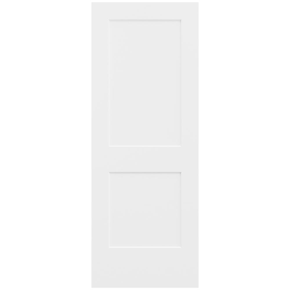 Delicieux JELD WEN 32 In. X 80 In. Monroe Primed Smooth Solid Core Molded
