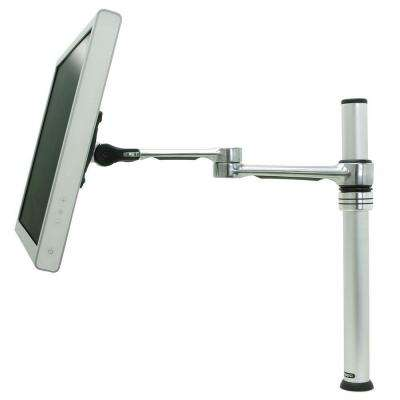 Single LCD Monitor Desk Mount