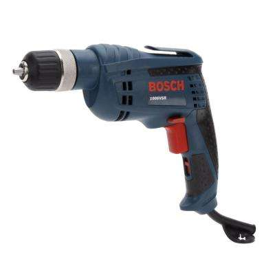 6.3 Amp Corded 3/8 in. Variable Speed Drill/Driver Kit