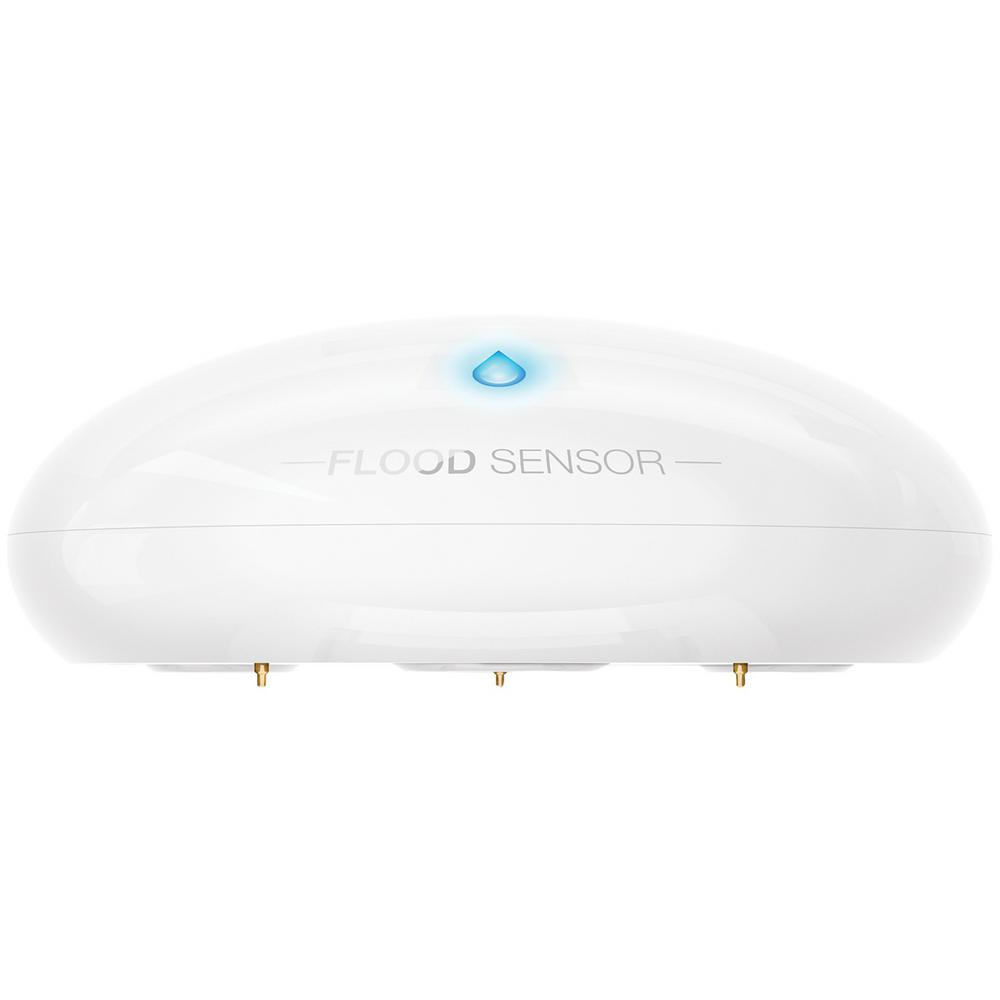 Motion Sensing Flood Sensor with Apple HomeKit Compatibility