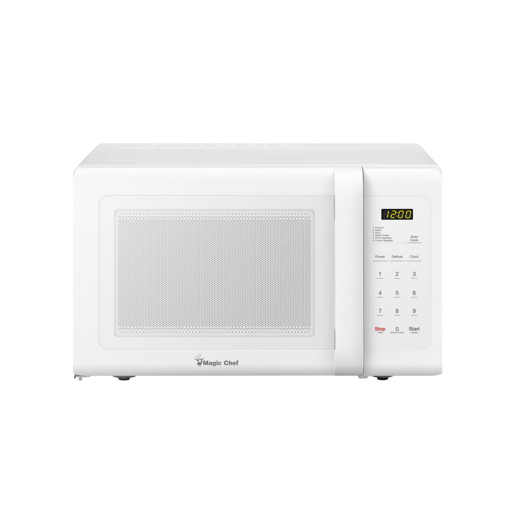 Magic Chef 0.9 cu. ft. Countertop Microwave in White