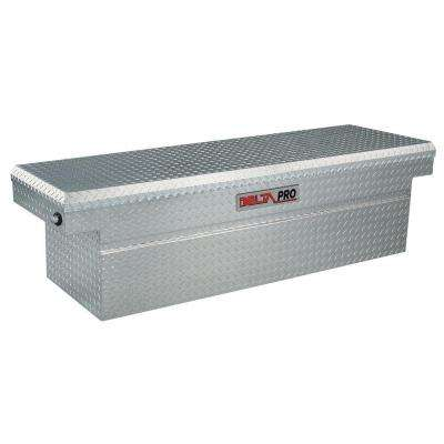 72.125 in. Aluminum Single Deep Ford Super-Duty and Full Size Crossover Tool Box in Bright