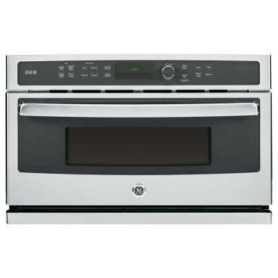 Profile 30 in. Single Electric Wall Oven with Advantium Cooking in Stainless Steel