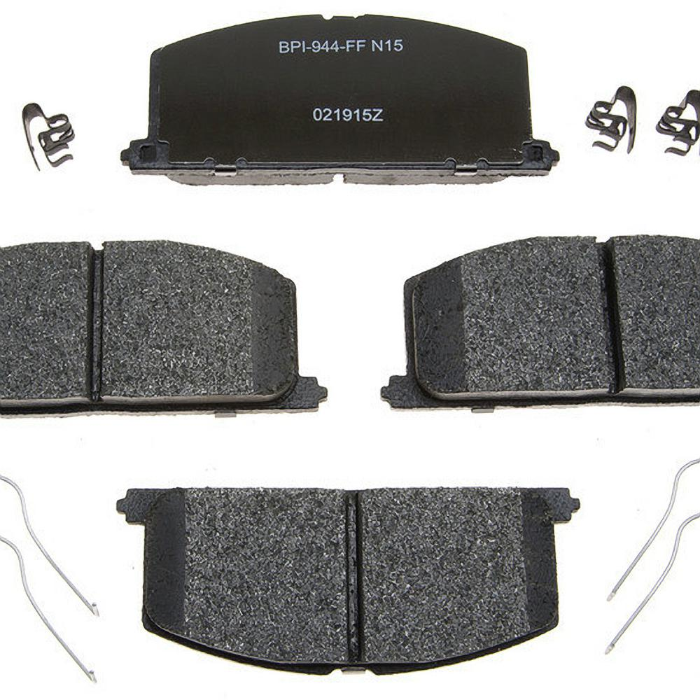 Toyota Brake Pads >> Raybestos Front Reliant Metallic Disc Brake Pad Fits 1983 1999 Toyota Tercel Corolla Paseo