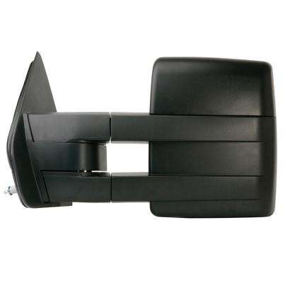 Towing Mirror for 04-08 Ford F150 Extendable with Signal and Puddle Lamp Textured black Foldaway LH Heated Power