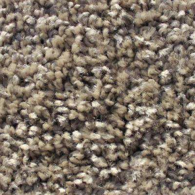 Mid-Century Smoke Texture 24 in. x 24 in. Carpet Tile (12 Tiles/Case)