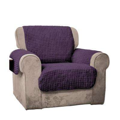 Purple Puff Chair Furniture Protector