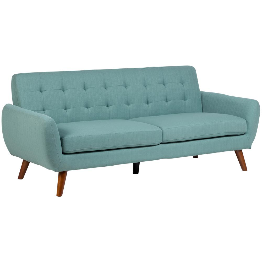 Sitswell daphne teal mid century modern sofa 01 41c 01 for Amazon mid century modern furniture