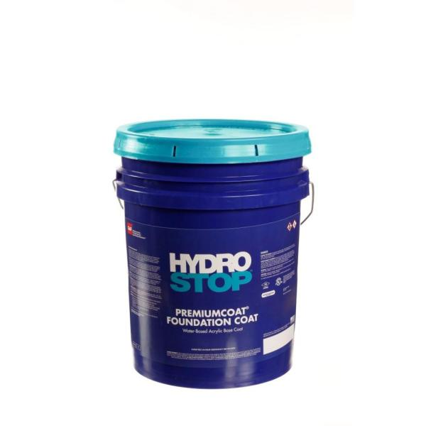 Gaf Hydrostop Premiumcoat 5 Gal Green Tinted Acrylic Foundation Coat For Roof Coating 890024000 The Home Depot
